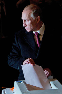 В марте 2012 г. президент впервые избирался сроком на шесть лет. Им стал Путин