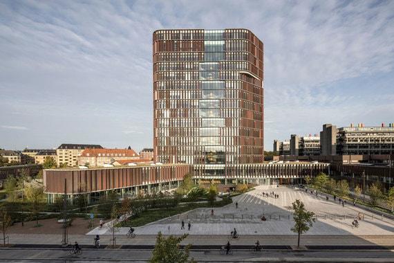 В номинации «Лучший проект в области здравоохранения» победил The Maersk Tower в Копенгагене - здание исследовательского института Датского университета и Университета Копенгагена