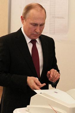 18 марта 2018 г. Владимир Путин идет на четвертый срок