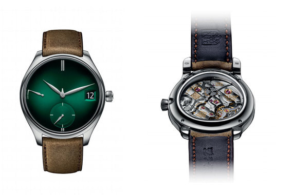H. Moser & Cie. создала еще одну версию своей знаковой модели Endeavour Perpetual Calendar. На этот раз циферблат часов выполнен в зеленом цвете. Часы в корпусе из белого золота будут изготовлены ограниченной серией в 50 экземпляров
