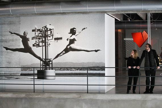Фрагмент выставки «Трансатлантическая альтернатива. Кинетическое искусство и оп-арт в Восточной Европе и Латинской Америке в 1950–1970-е»