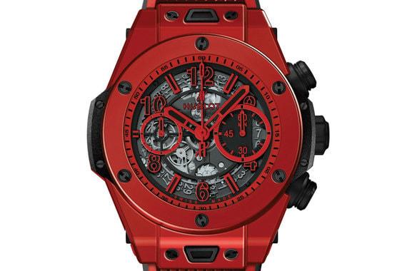 Hublot выпускает хитовую модель Big Bang в керамическом корпусе яркого красного цвета. Часы Big Bang Unico Red Magic иллюстрируют результат 4-летних усилий марки в разработке новой технологии работы с керамикой, позволяющей не терять яркость цвета