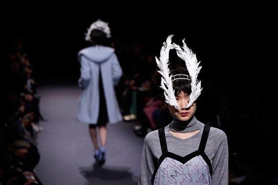 21 марта 2018 г. Показ Ohalu Ando на неделе моды в Токио (Japan Fashion Week)