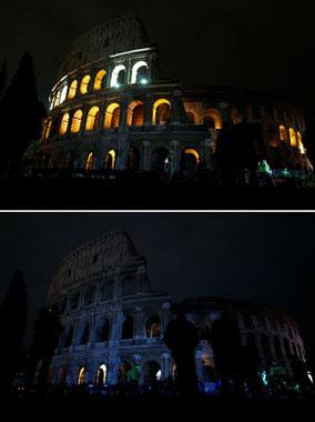 Древний Колизей в Риме