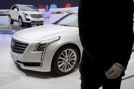 Cadillac CT6: атмосферное явление