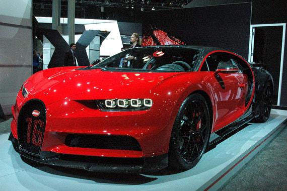 Еще более мощная версия суперкара Bugatti - Chiron Sport - 1500 л. с., стоимость от $3,26 млн