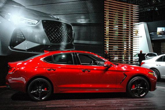 Компактный седан Genesis G70 выводят на североамериканский рынок. В России продажи начнутся в апреле
