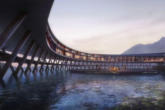 normal 183z Как выглядит «отель будущего» за Полярным кругом