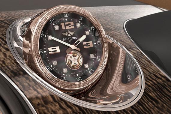 Самая дорогая опция для клиентов Bentley – механические часы с турбийоном Bentley Bentayga Mulliner Tourbillon