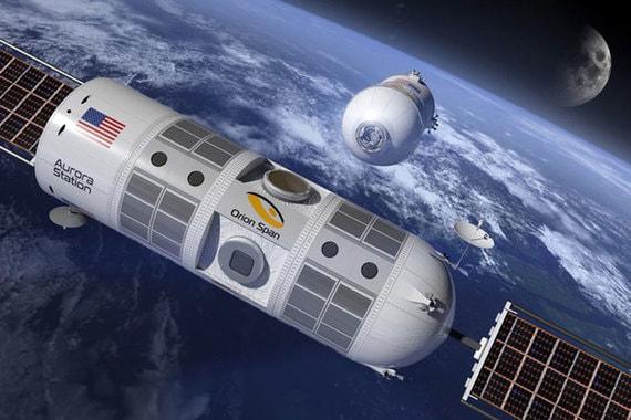 normal zf7 Orion Span собирается запустить первый в мире космический отель