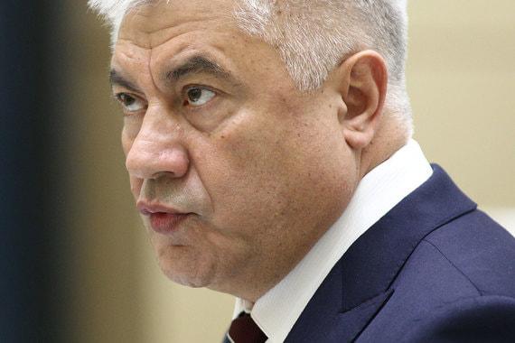 Владимир Колокольцев, министр внутренних дел