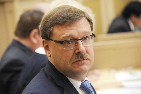 Константин Косачев, председатель международного комитета Совета Федерации