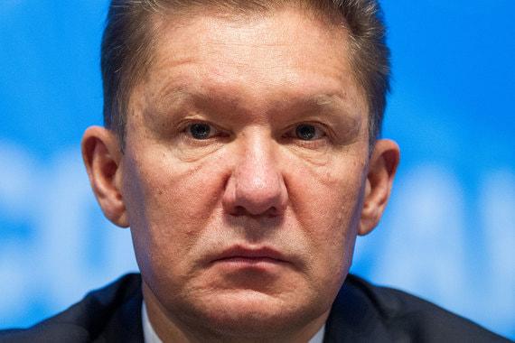 Алексей Миллер, предправления «Газпрома»