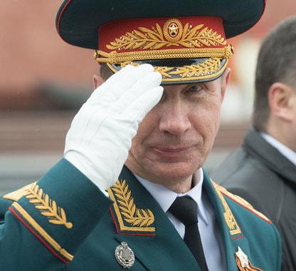 Виктор Золотов, директор Росгвардии