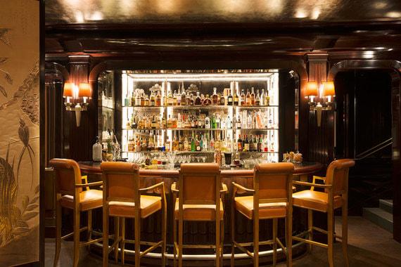 Интерьер бара Bar Vendôme практически не менялся с течением времени