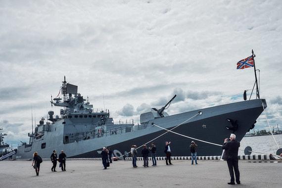 Россия обладает в районе Сирии двумя фрегатами типа 11356
