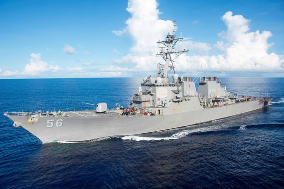 США и союзники держат у побережья Сирии два ракетных эсминца типа «Арли Бёрк»