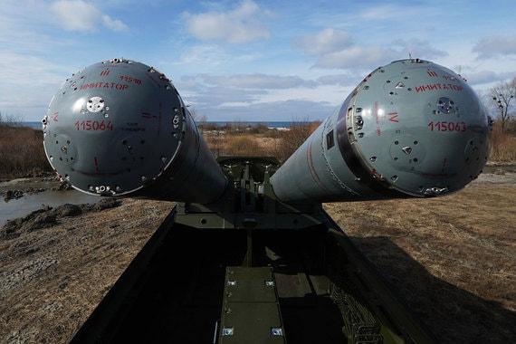 """Противокорабельные комплексы """"Бастион"""" – два дивизиона, до 48 ракет"""