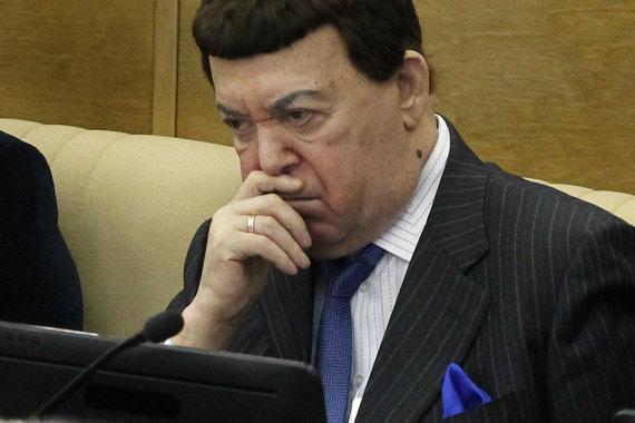 Первый заместитель председателя комитета Госдумы по культуре Иосиф Кобзон
