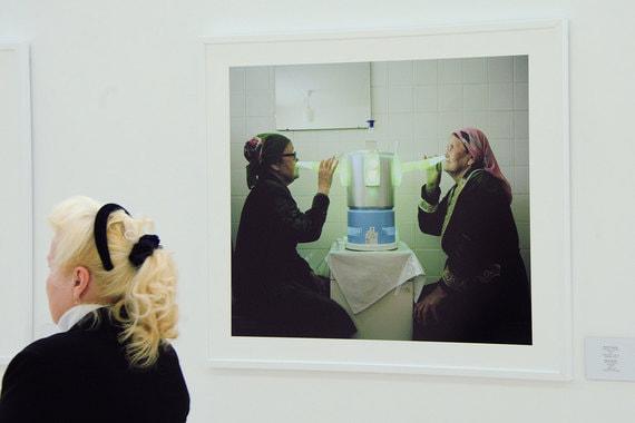 Снимок «Санаторий «Аврора»» (автор Михал Соларски) из серии «Каникулы в советских санаториях»