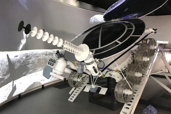 Макет самоходного космического аппарата «Луноход-1»