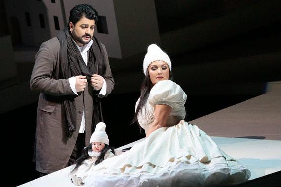 Анне Нетребко и Юсифу Эйвазову – «За уникальный творческий дуэт в спектакле Большого театра «Манон Леско»