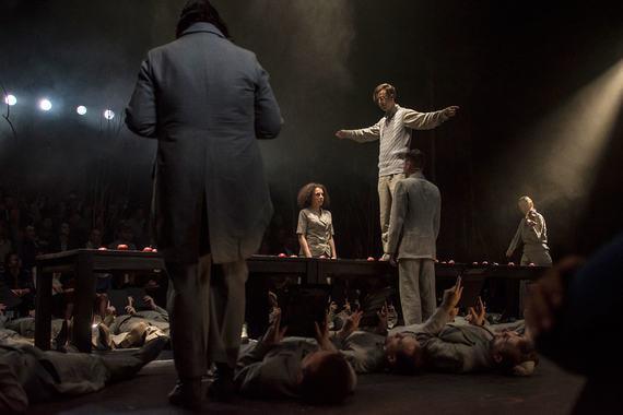 Спектаклю Cantos Театра оперы и балета им. П. И. Чайковского, Пермь, – «За художественную целостность и создание новаторской формы музыкального спектакля ансамблем авторов и исполнителей»