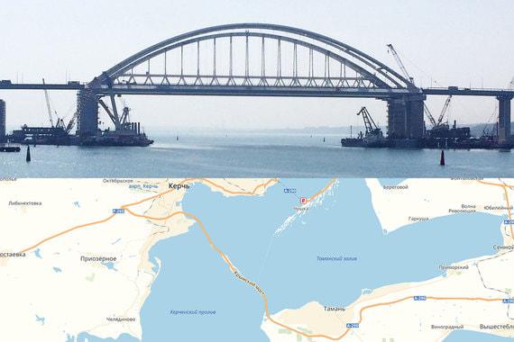 Крымский мост состоит из двух параллельных мостов – автомобильного с двумя полосами движения в каждую сторону и железнодорожного. Движение по первому начнется в мае. Точную дату строители пока не называют. Но «Яндекс» уже нанес мост на свои карты