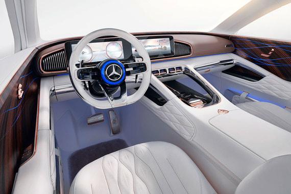 Концептуальный автомобиль предназначен для использования преимущественно с водителем, поэтому конструкция и салон ориентированы в первую очередь на удобство задних пассажиров, пояснила компания