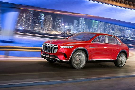 Daimler рассматривает возможность выпуска новой модели люксового суб-бренда Mercedes-Maybach с кузовом кроссовер - гибридом представительского седана и внедорожника