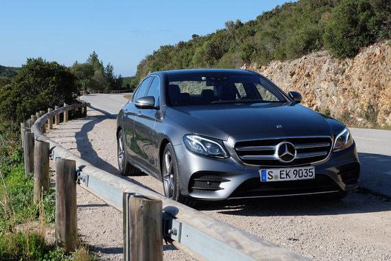 На восьмом месте рейтинга Mercedes-Benz E-Klasse (5415 шт.)