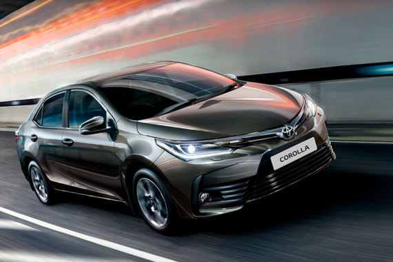 Замыкает топ-10 Toyota Corolla (4696 шт.)