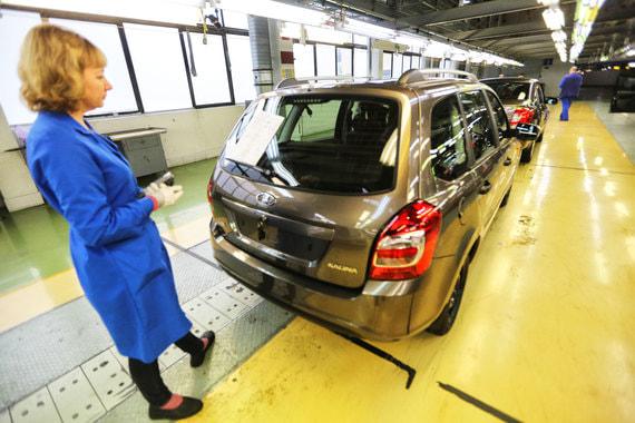 «АвтоВАЗ» получил первую квартальную прибыль с 2016 года