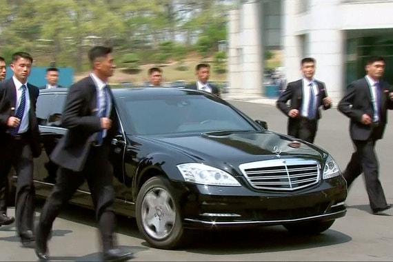 Лимузин северокорейского лидера