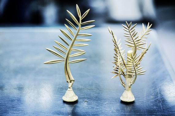 Гипсовые формы «Золотой пальмовой ветви» и ее мини-версии