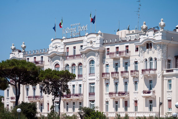 Grand Hotel Rimini является национальным памятником Италии
