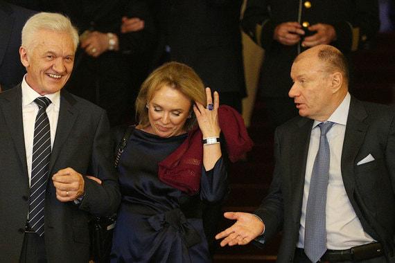 Владелец Volga Group Геннадий Тимченко и президент «Норникеля» Владимир Потанин