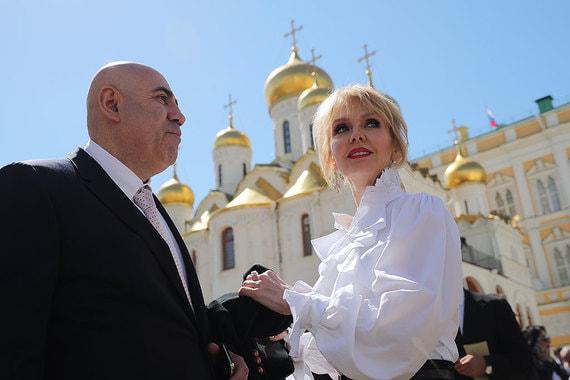 Продюсер Иосиф Пригожин и его супруга – певица Валерия