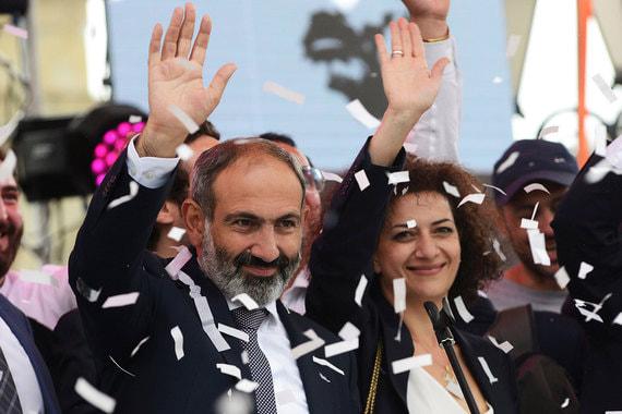 8 мая. Пашинян избран на должность премьера Армении. Он объявил, что в ближайшее время рассчитывает встретиться с Владимиром Путиным