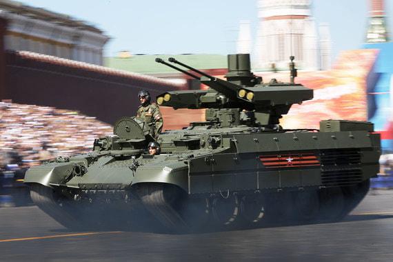 Боевая машина поддержки танков (БМПТ) «Терминатор»