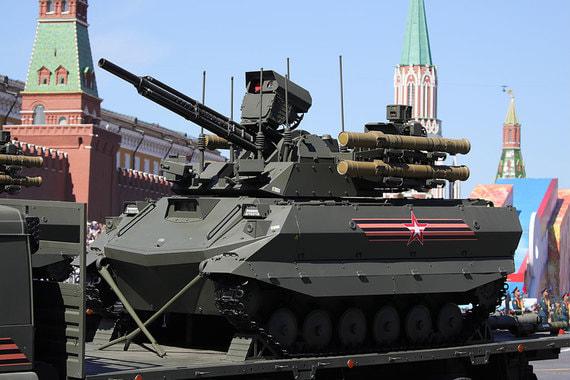 Беспилотный боевой модуль разведки и огневой поддержки «Уран-9»