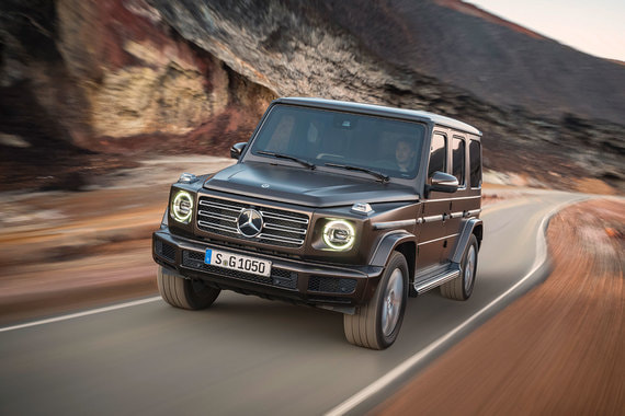 normal 1p8e Mercedes Benz G Klasse: Готов ко всему