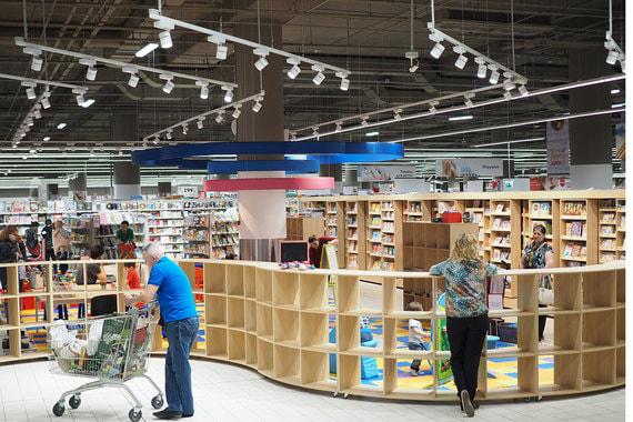 Новая модель магазинов сети «Ашан»