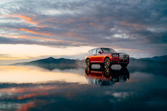 Британский производитель люксовых автомобилей Rolls-Royce Motor Cars, входящий в BMW Group, представил первый внедорожник (SUV) марки Cullinan