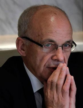 Министр финансов Швейцарии Ули Маурер