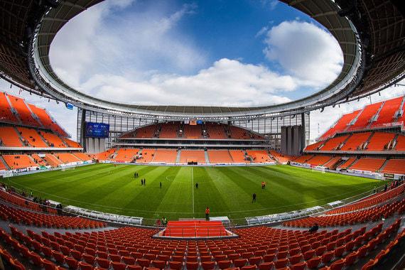 Вместимость арены в Екатеринбурге – 35 000 человек. Стоимость реконструкции составила 12,7 млрд руб.