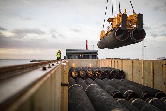 Начало строительных работ в территориальных водах Германии запланировано на 15 мая