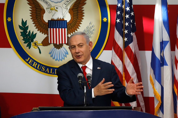 Премьер Израиля Биньямин Нетаньяху поблагодарил Трампа за историческое решение