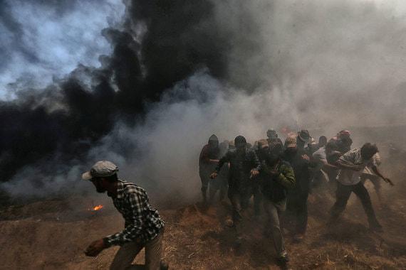 Беспорядки на границе между Израилем и сектором Газа