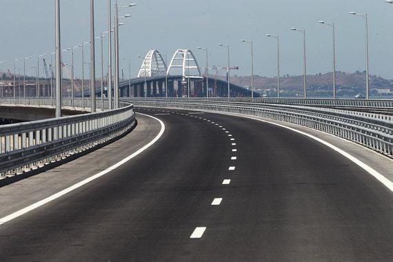 Крымский мост перед открытием